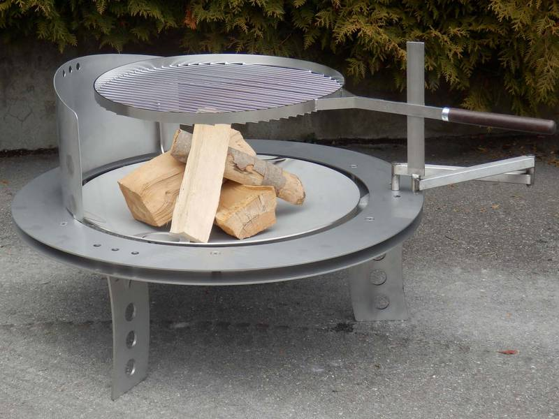 feuerschale solare back und grillbedarf schmid m gert ag. Black Bedroom Furniture Sets. Home Design Ideas